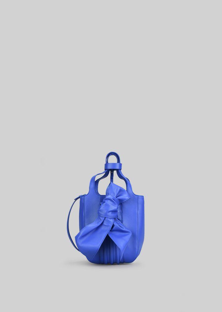 3bff130bda TOTE BAG IN NAPA LEATHER WITH BOW | Woman | Giorgio Armani