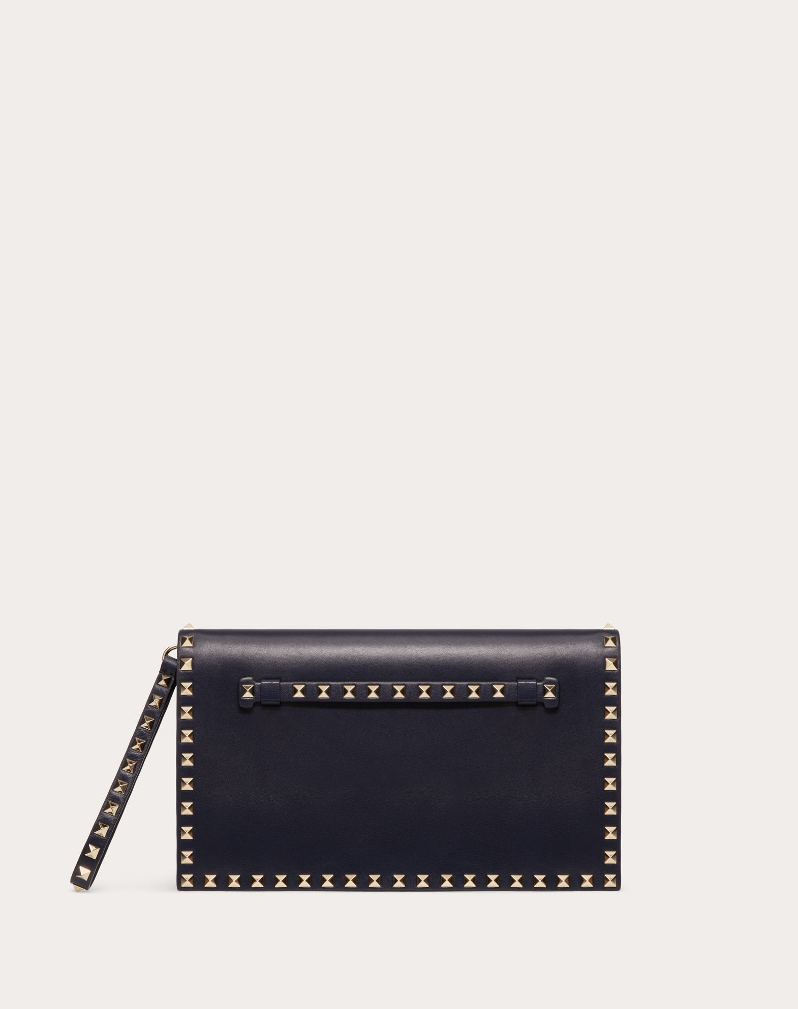 VALENTINO Logo Studs Solid color Snap button closure  45378875jw