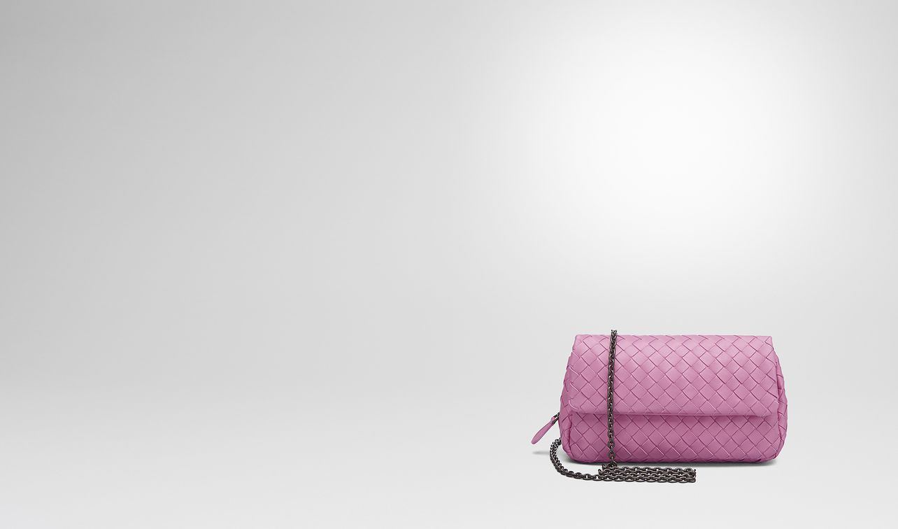 twilight intrecciato nappa mini messenger bag landing