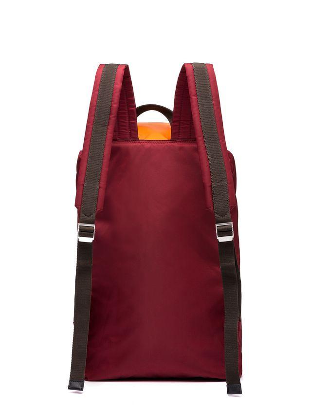 Marni Backpack in orange nylon Man