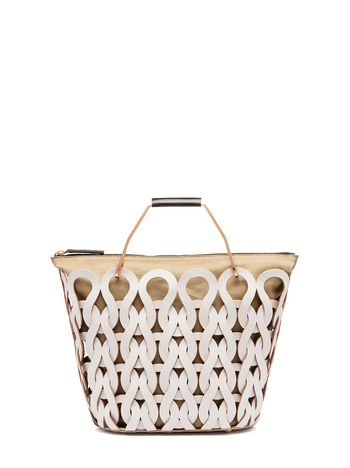 Marni TRICOT bag in calfskin Woman