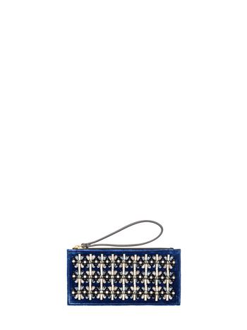 Marni Clutch in velvet and strass Woman