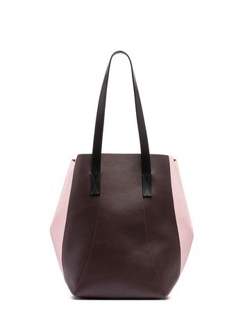 Marni Burgundy calfskin GPOY bag Woman