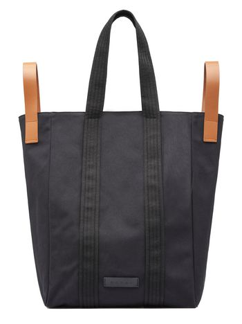 Marni Borsa shopping in canvas nero Uomo