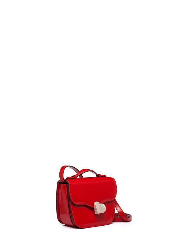 Marni MRS MIDI BAG IN RED CALFSKIN Woman - 2
