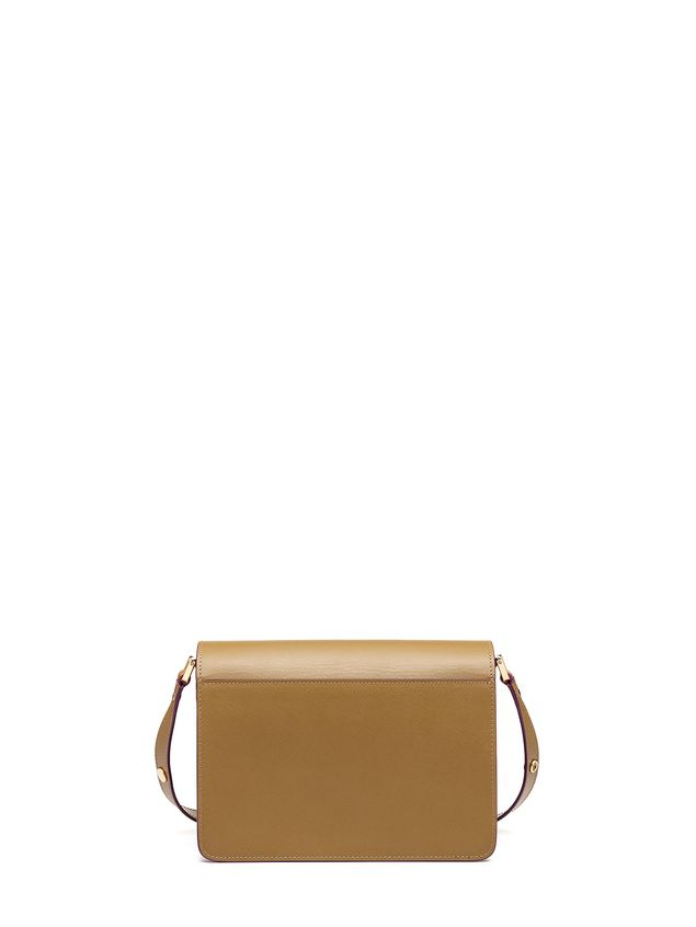 Marni TRUNK bag in saffiano green Woman