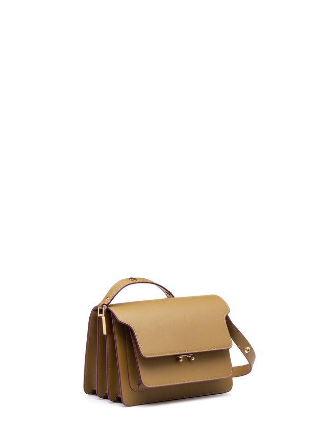 Marni TRUNK bag in saffiano green Woman - 2
