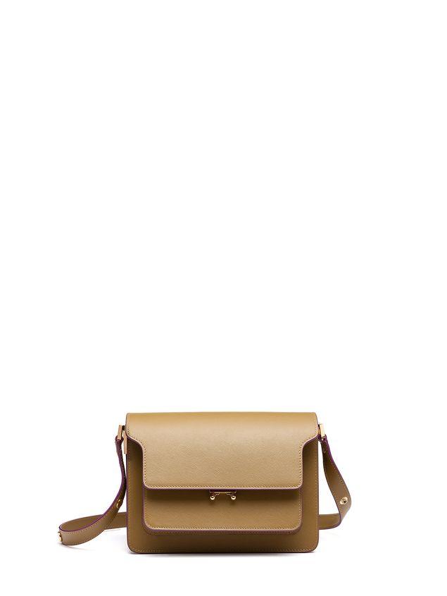Marni TRUNK bag in saffiano green Woman - 1