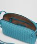 BOTTEGA VENETA AQUA INTRECCIATO NAPPA SMALL MESSENGER BAG Crossbody bag D dp