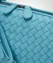 BOTTEGA VENETA AQUA INTRECCIATO NAPPA SMALL MESSENGER BAG Crossbody bag D ep