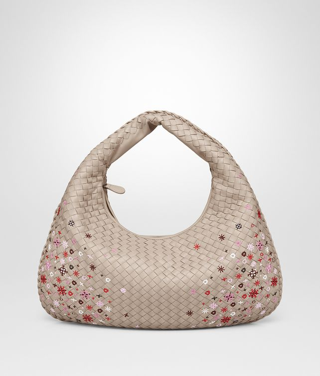 BOTTEGA VENETA MINK INTRECCIATO MEADOW FLOWER MEDIUM VENETA BAG Shoulder Bag       pickupInStoreShipping info 6cd9280b54972
