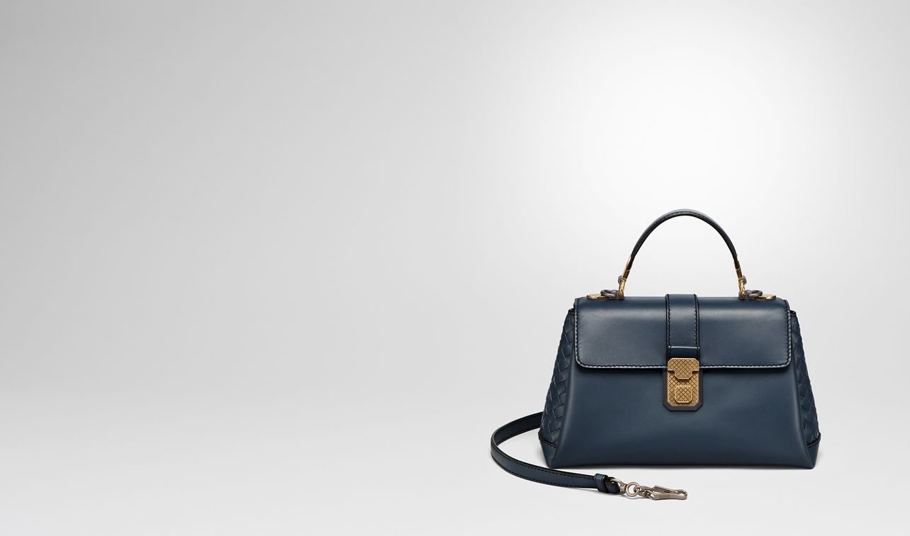 denim calf small piazza bag landing