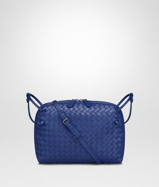 COBALT INTRECCIATO NAPPA LEATHER NODINI BAG