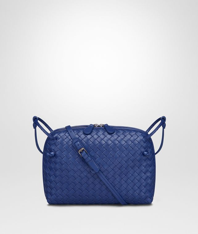BOTTEGA VENETA COBALT INTRECCIATO NAPPA NODINI BAG Crossbody bag Woman fp