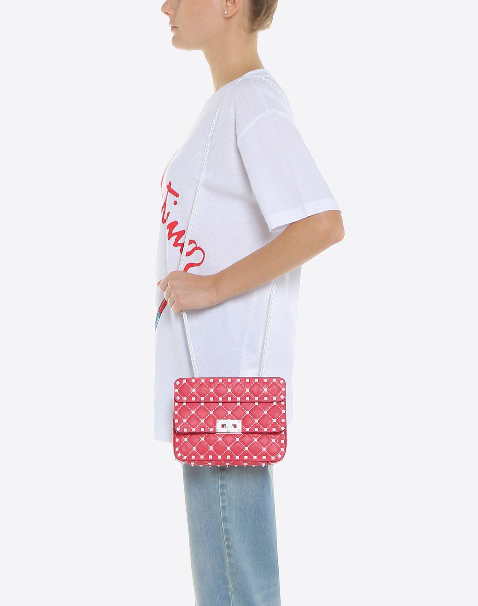 VALENTINO GARAVANI Free Rockstud Spike Small Chain Bag Shoulder bag D a
