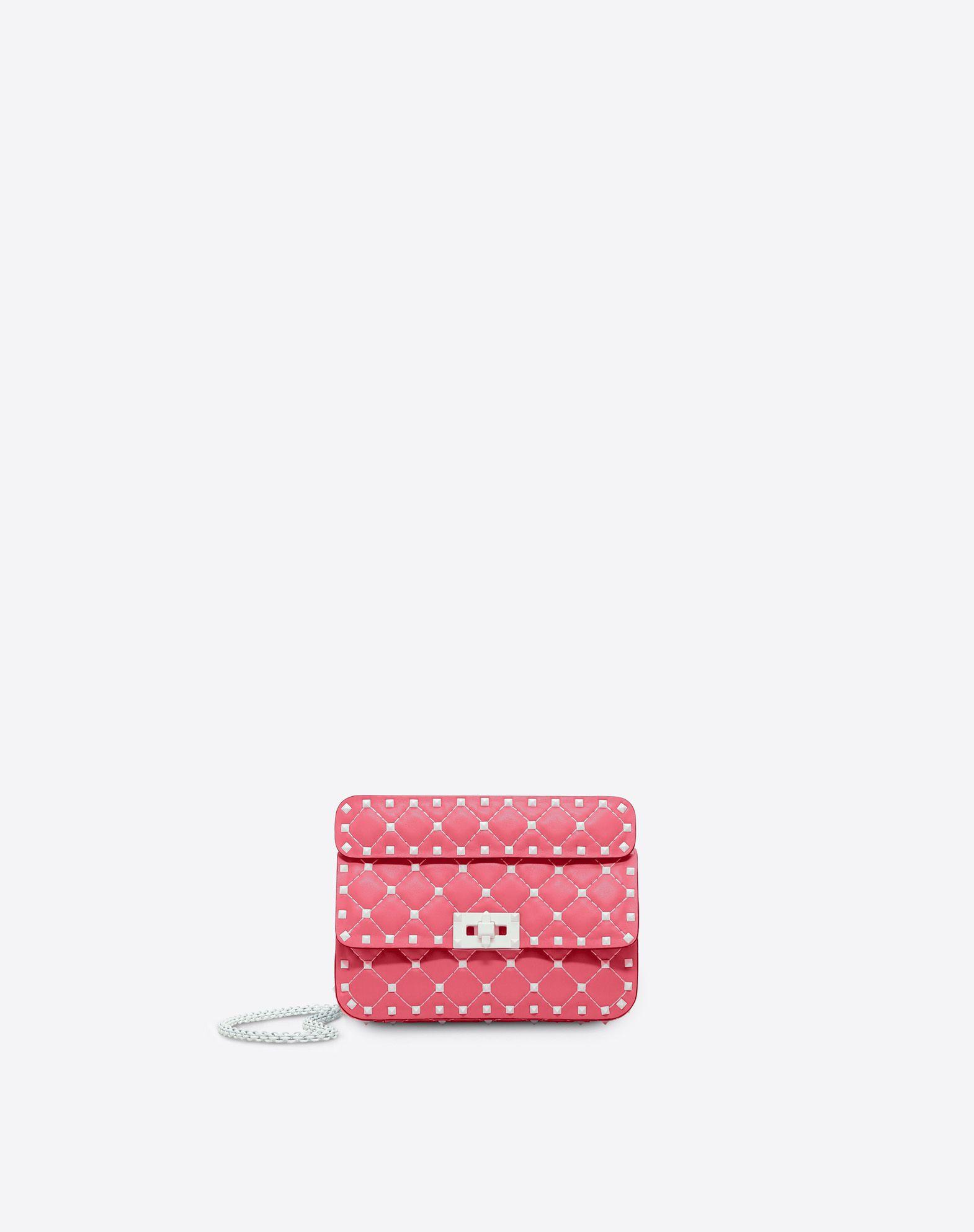 VALENTINO GARAVANI Free Rockstud Spike Small Chain Bag Shoulder bag D f
