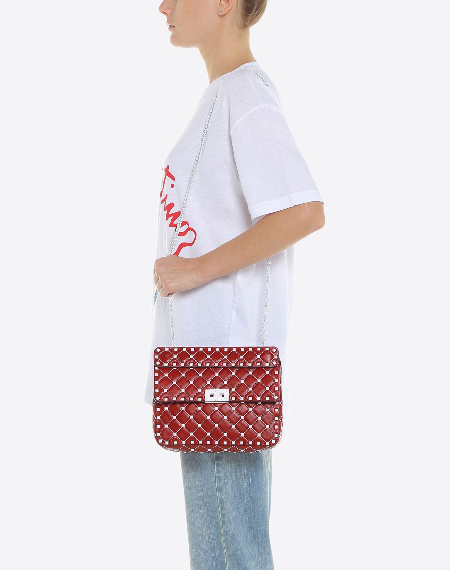 VALENTINO GARAVANI Free Rockstud Spike Medium Chain Bag Shoulder bag D a