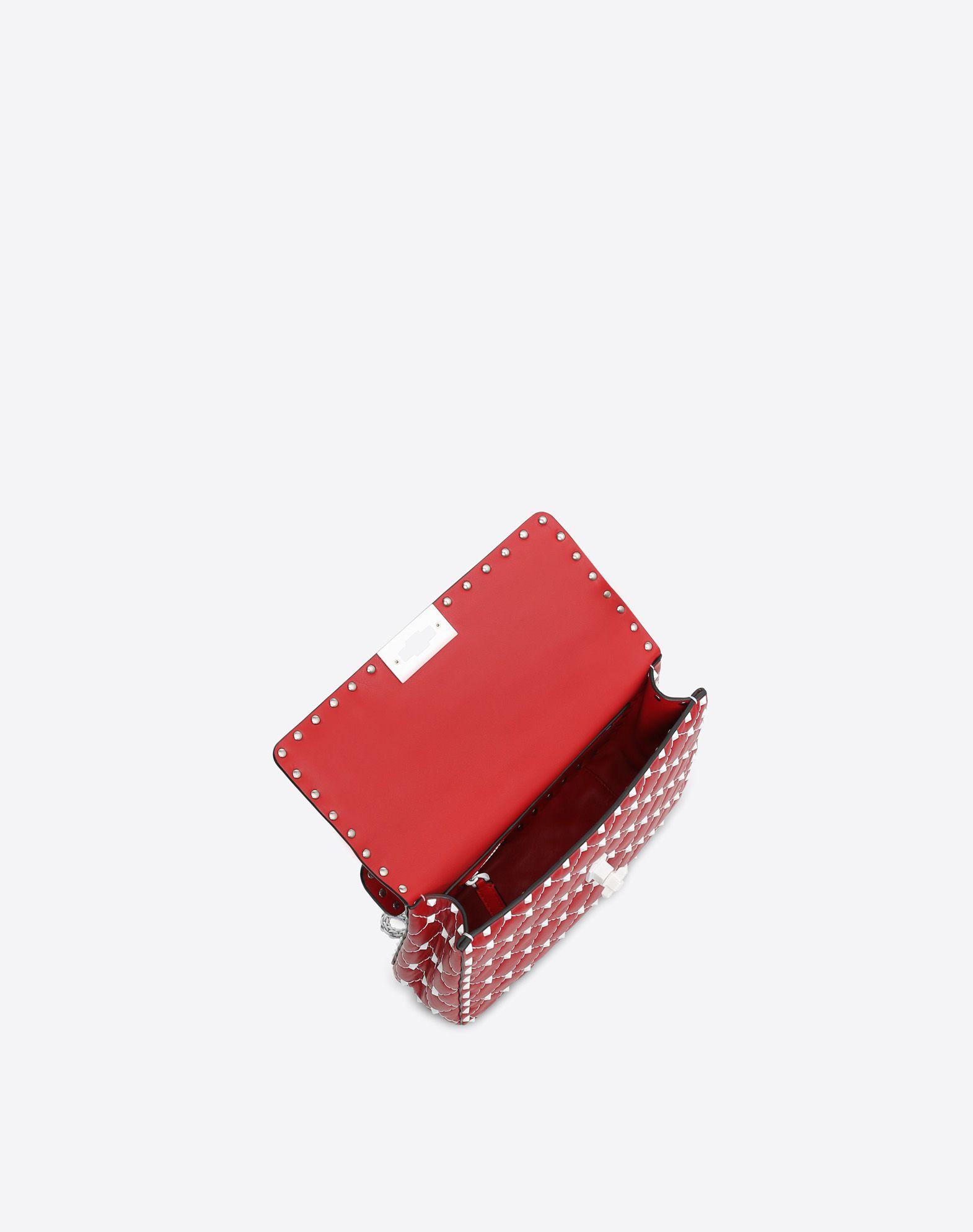 VALENTINO GARAVANI Free Rockstud Spike Medium Chain Bag Shoulder bag D e