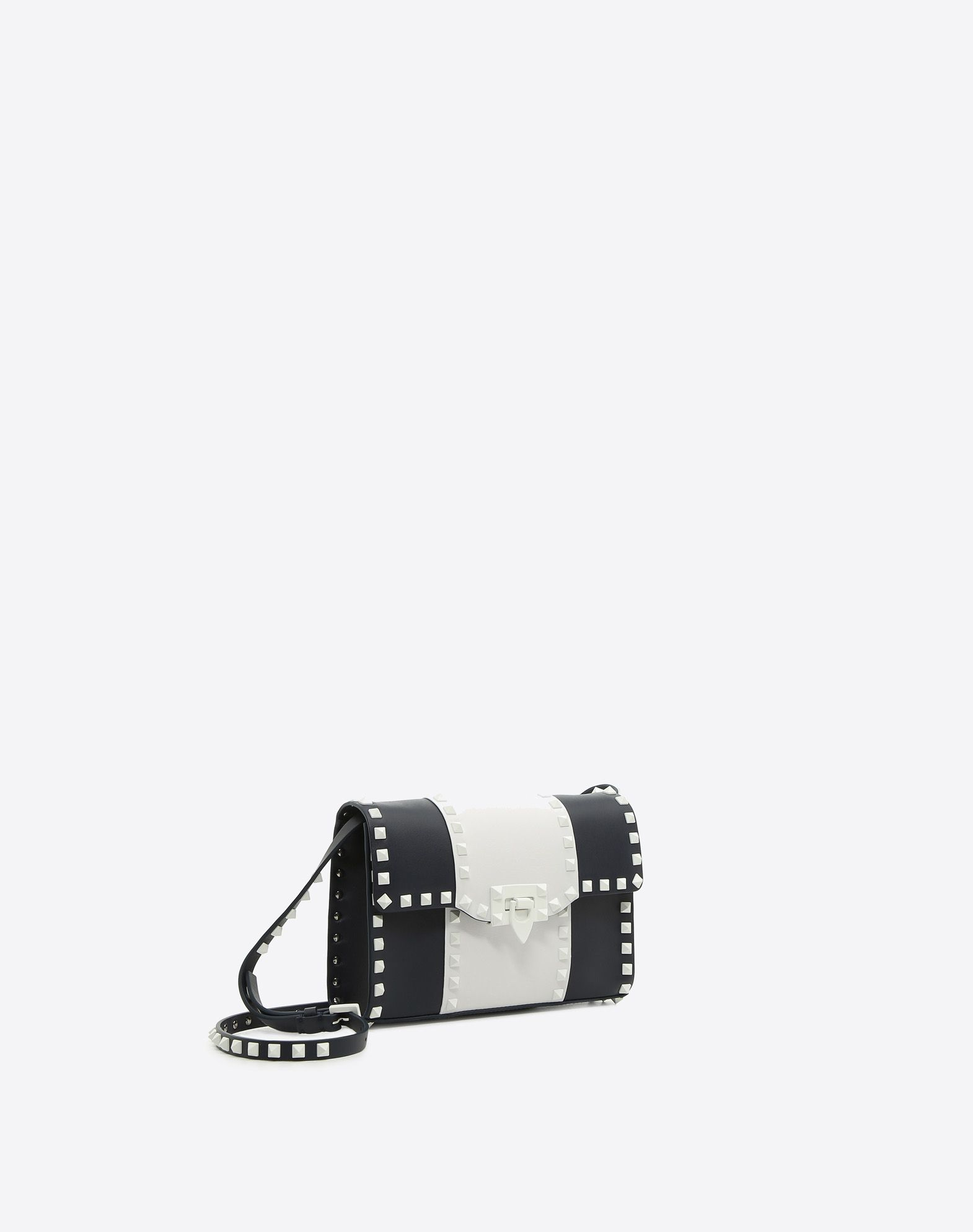 VALENTINO GARAVANI Free Rockstud Small Shoulder Bag CROSS BODY BAG D r