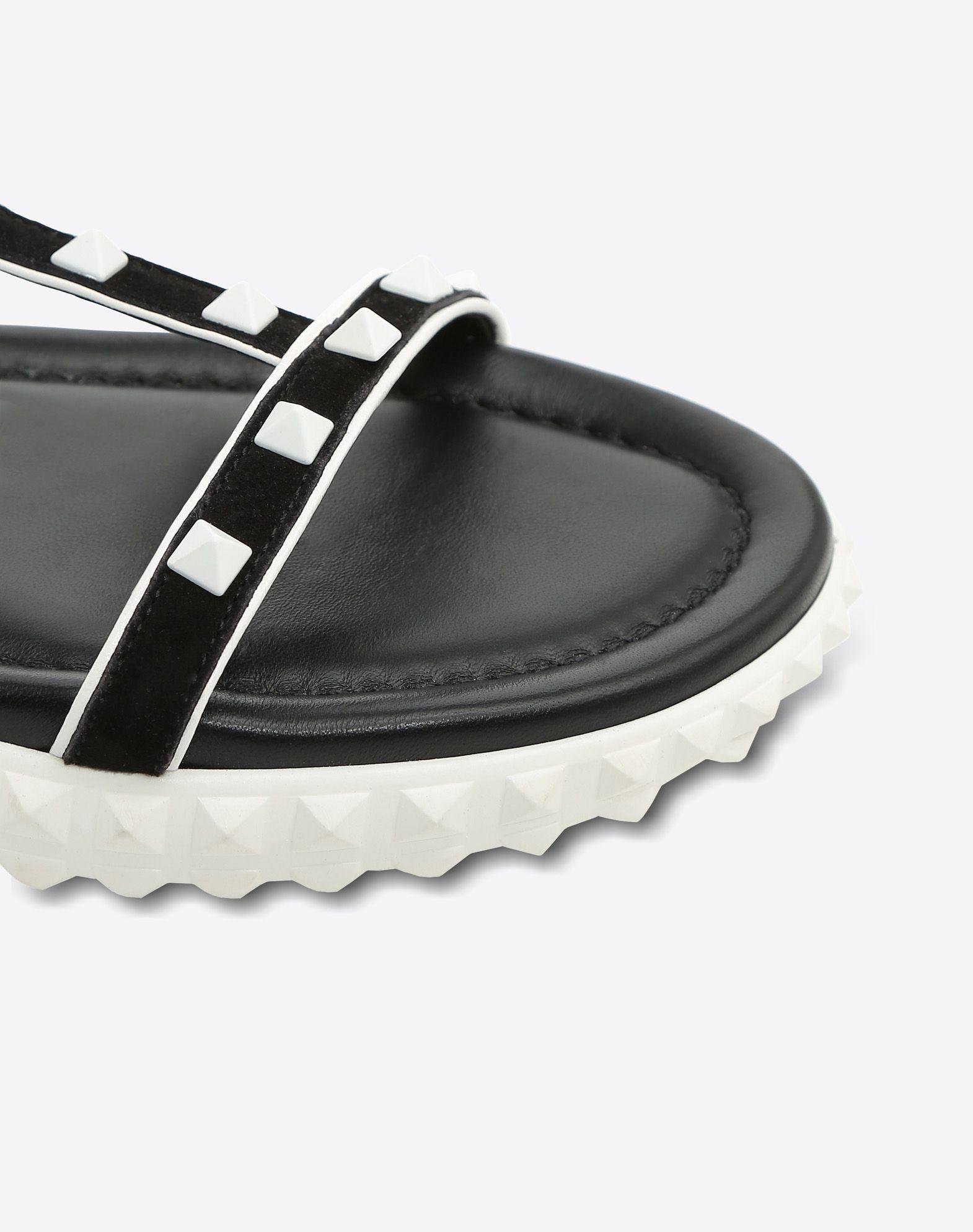 VALENTINO GARAVANI Free Rockstud flat Sandal FLAT SANDALS D b