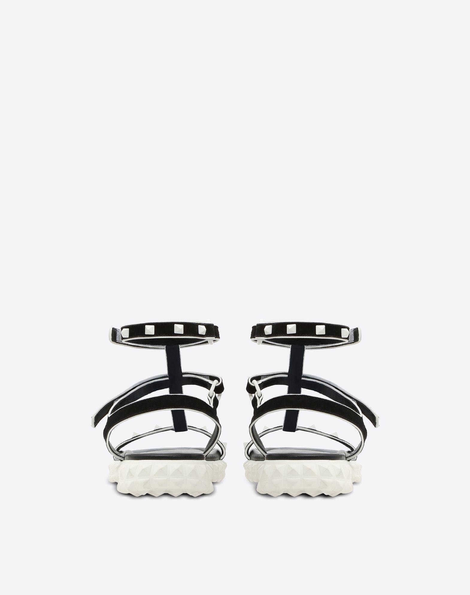 VALENTINO GARAVANI Free Rockstud flat Sandal FLAT SANDALS D d