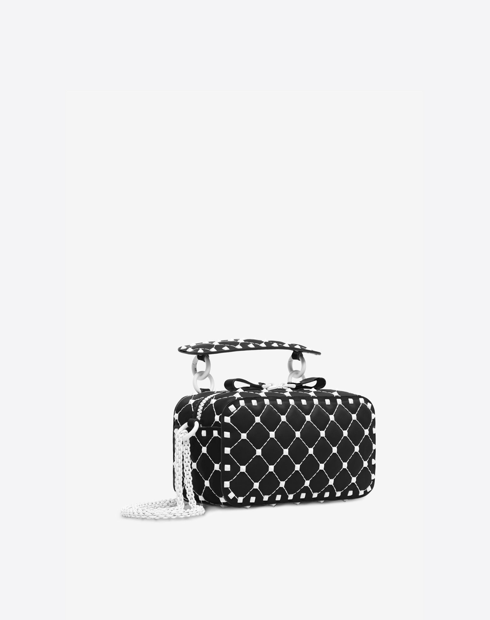 VALENTINO GARAVANI Free Rockstud Spike Camera Bag Messenger bag D r