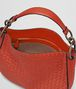 BOTTEGA VENETA TERRACOTTA INTRECCIATO NAPPA SMALL LOOP BAG Shoulder Bag Woman dp