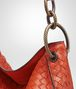 BOTTEGA VENETA TERRACOTTA INTRECCIATO NAPPA SMALL LOOP BAG Shoulder or hobo bag D ep