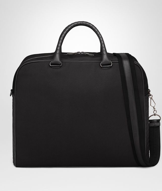 BOTTEGA VENETA NERO CANVAS DUFFEL Luggage E fp