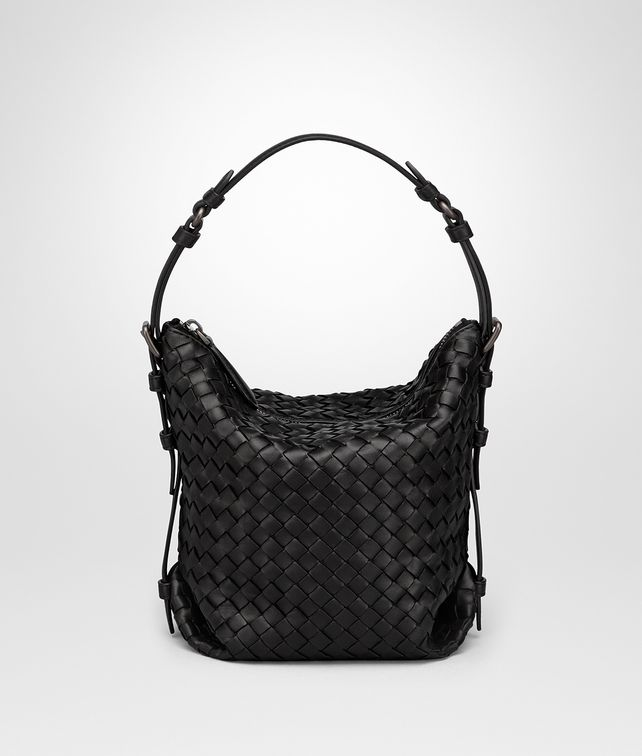 BOTTEGA VENETA NERO INTRECCIATO NAPPA SMALL OSAKA BAG Shoulder Bag Woman fp