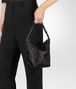 BOTTEGA VENETA NERO INTRECCIATO NAPPA SMALL OSAKA BAG Shoulder Bag Woman ap