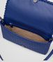 BOTTEGA VENETA COBALT INTRECCIATO NAPPA MEDIUM CLUTCH Clutch Woman dp