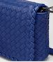 BOTTEGA VENETA COBALT INTRECCIATO NAPPA MEDIUM CLUTCH Clutch Woman ep