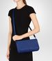 BOTTEGA VENETA COBALT INTRECCIATO NAPPA MEDIUM CLUTCH Clutch Woman lp