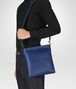 BOTTEGA VENETA COBALT BLUE INTRECCIATO SMALL MESSENGER BAG Messenger Bag Man ap