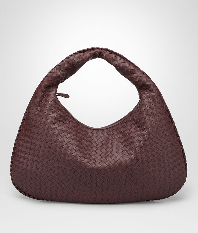 BOTTEGA VENETA DARK BAROLO INTRECCIATO NAPPA LARGE VENETA BAG Hobo Bag [*** pickupInStoreShipping_info ***] fp