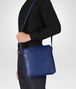 BOTTEGA VENETA COBALT BLUE INTRECCIATO MESSENGER BAG Messenger Bag Man ap