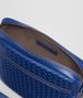 BOTTEGA VENETA COBALT BLUE INTRECCIATO MESSENGER BAG Messenger Bag Man dp