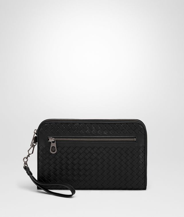 BOTTEGA VENETA NERO INTRECCIATO DOCUMENT CASE Document case Man fp
