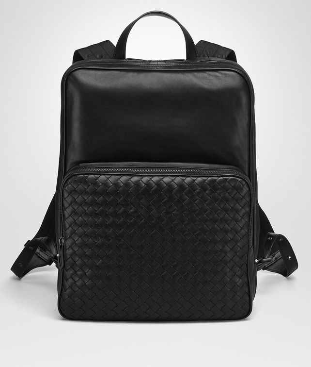 BOTTEGA VENETA NERO NAPPA BACKPACK Backpack [*** pickupInStoreShippingNotGuaranteed_info ***] fp