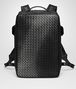 BOTTEGA VENETA NERO NAPPA GALAXY BRICK BACKPACK Messenger Bag U fp