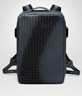 DENIM INTRECCIATO NAPPA GALAXY BRICK BACKPACK