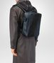 BOTTEGA VENETA DENIM INTRECCIATO NAPPA GALAXY BRICK BACKPACK Backpack Man ap