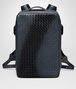 BOTTEGA VENETA DENIM INTRECCIATO NAPPA GALAXY BRICK BACKPACK Messenger Bag Man fp