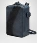 BOTTEGA VENETA DENIM INTRECCIATO NAPPA GALAXY BRICK BACKPACK Backpack Man rp