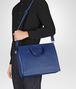 BOTTEGA VENETA COBALT BLUE INTRECCIATO BRIEFCASE Business bag Man lp