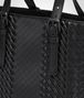BOTTEGA VENETA NERO INTRECCIATO IMPERATORE CALF AQUATRE BAG Tote Bag Man ep