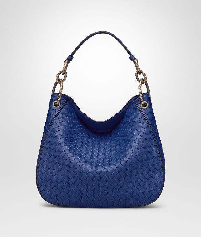 BOTTEGA VENETA COBALT INTRECCIATO NAPPA LOOP BAG Hobo Bag Woman fp