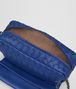 BOTTEGA VENETA COBALT INTRECCIATO NAPPA MINI MESSENGER BAG Crossbody bag Woman lp