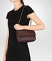 BOTTEGA VENETA DARK BAROLO INTRECCIATO NAPPA BABY OLIMPIA BAG Shoulder Bag Woman ap